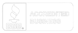 Accredited Business with Better Business Bureau Logo
